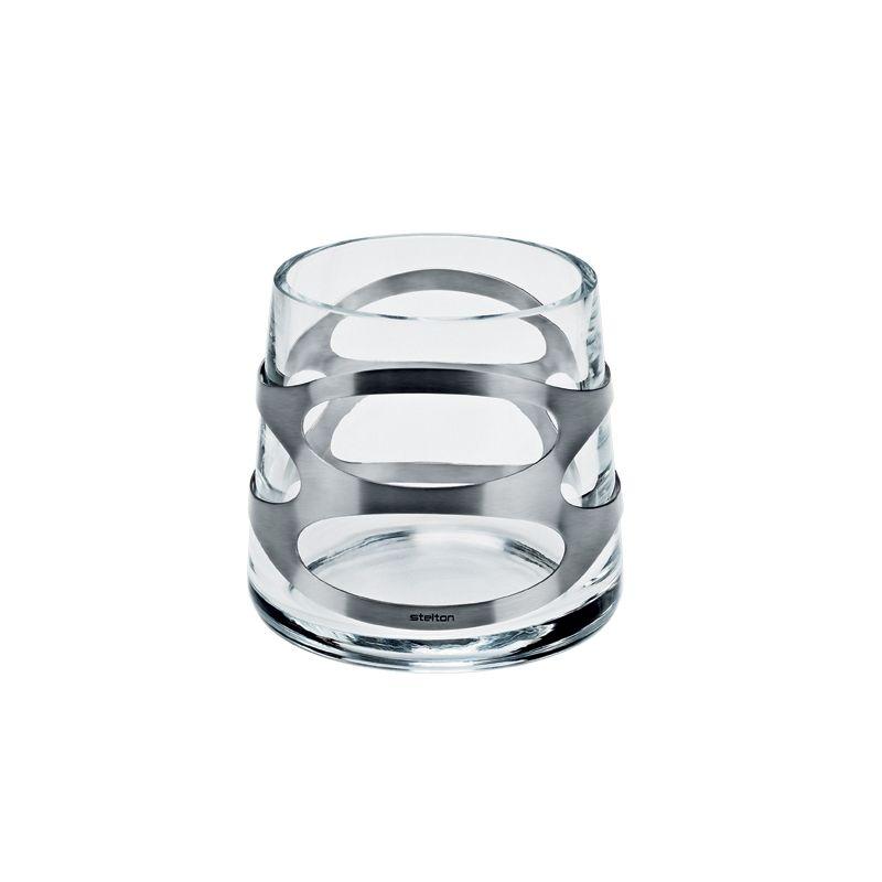 Stelton - Embrace - świecznik lub wazonik - wysokość: 10,5 cm