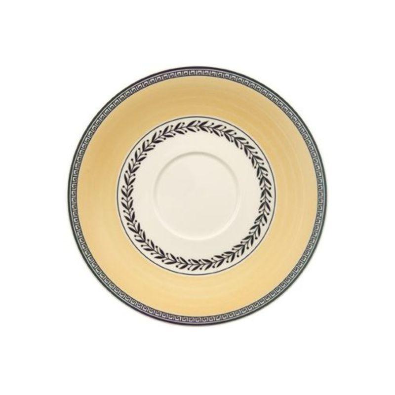 Villeroy & Boch - Audun Ferme - spodek do filiżanki śniadaniowej lub bulionówki - średnica: 18 cm