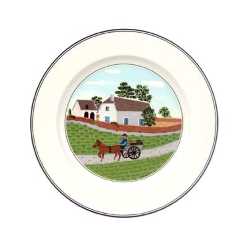 Villeroy & Boch - Design Naif - talerz sałatkowy Rolnik - średnica: 21 cm