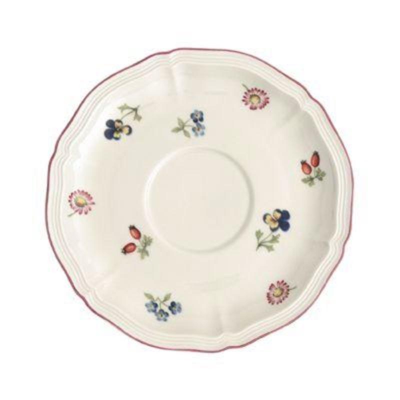 Villeroy & Boch - Petite Fleur - spodek do filiżanki śniadaniowej - średnica: 17 cm