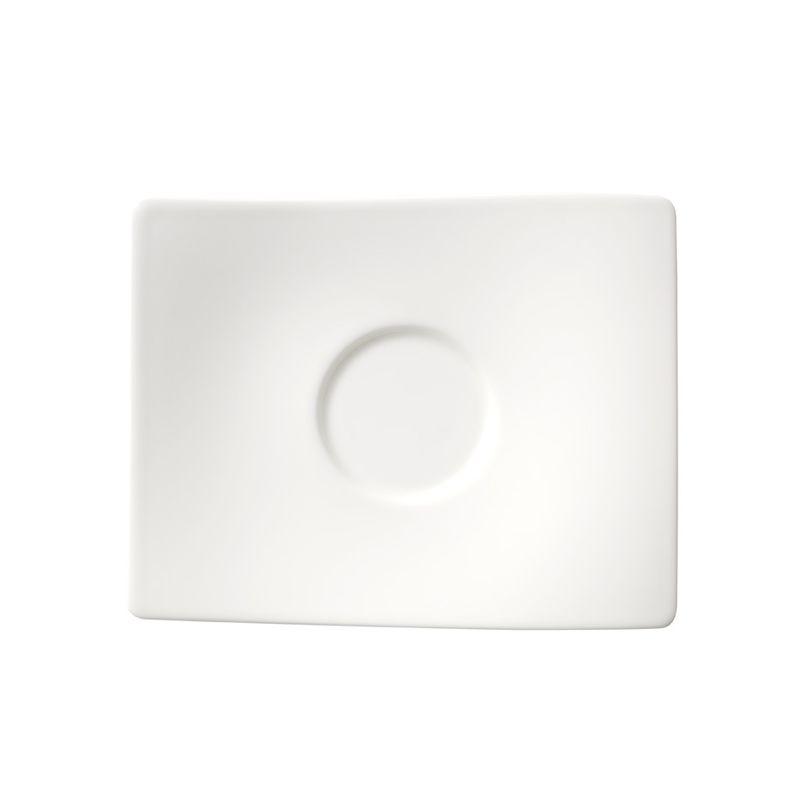 Villeroy & Boch - New Wave - spodek do filiżanki do kawy lub herbaty - wymiary: 18 x 15 cm