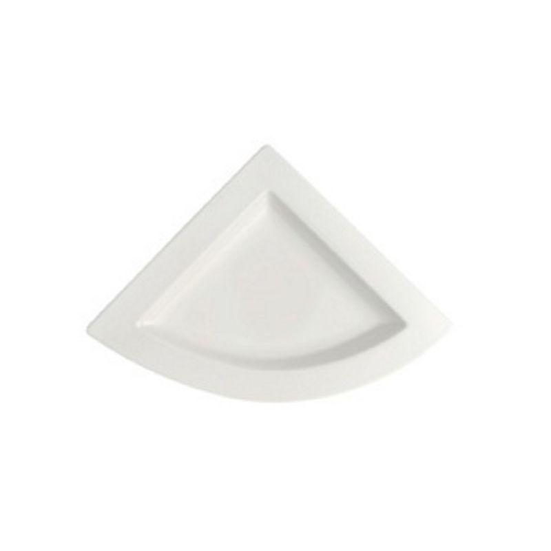 Villeroy & Boch - New Wave - talerz trójkątny - wymiary: 22 x 22 cm