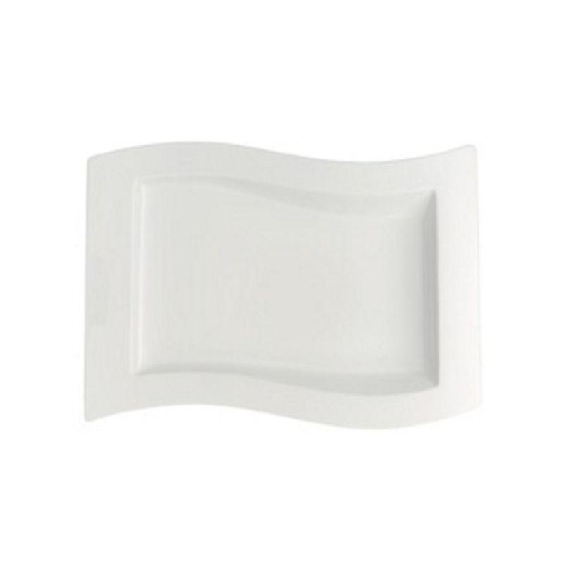 Villeroy & Boch - New Wave - talerz prostokątny - wymiary: 33 x 24 cm