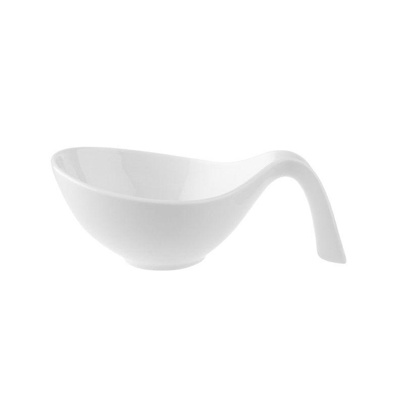Villeroy & Boch - Flow - miska sałatkowa z rączką - pojemność: 0,6 l
