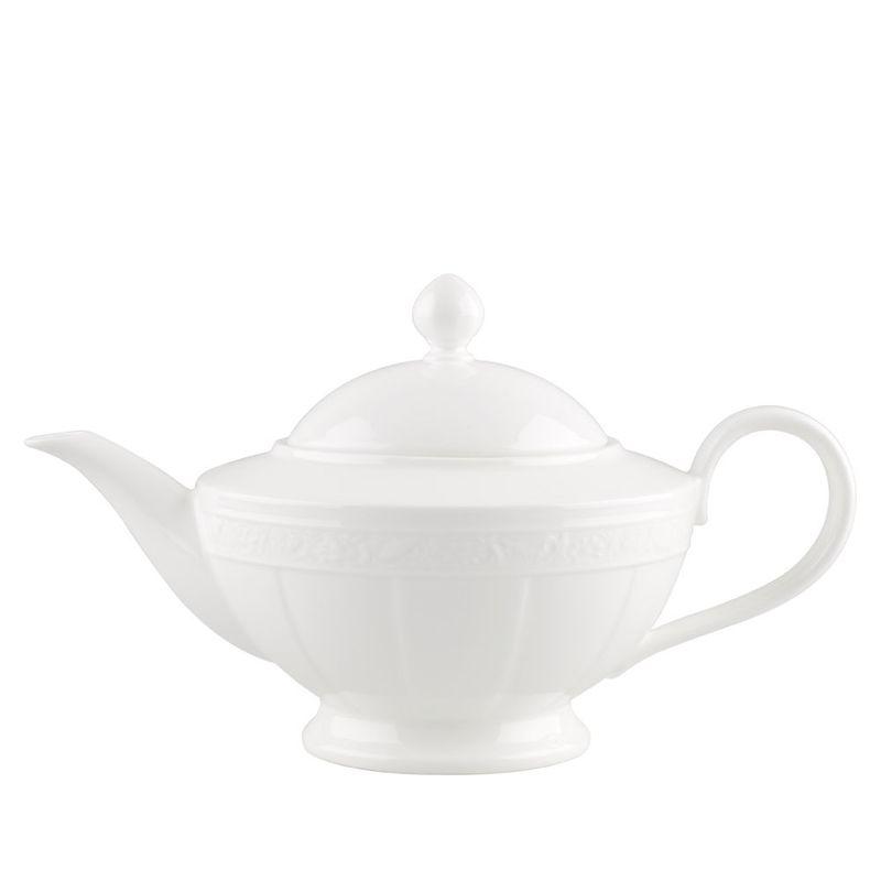 Villeroy & Boch - White Pearl - dzbanek do herbaty - pojemność: 1,4 l