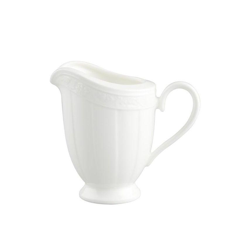 Villeroy & Boch - White Pearl - mlecznik - pojemność: 0,25 l
