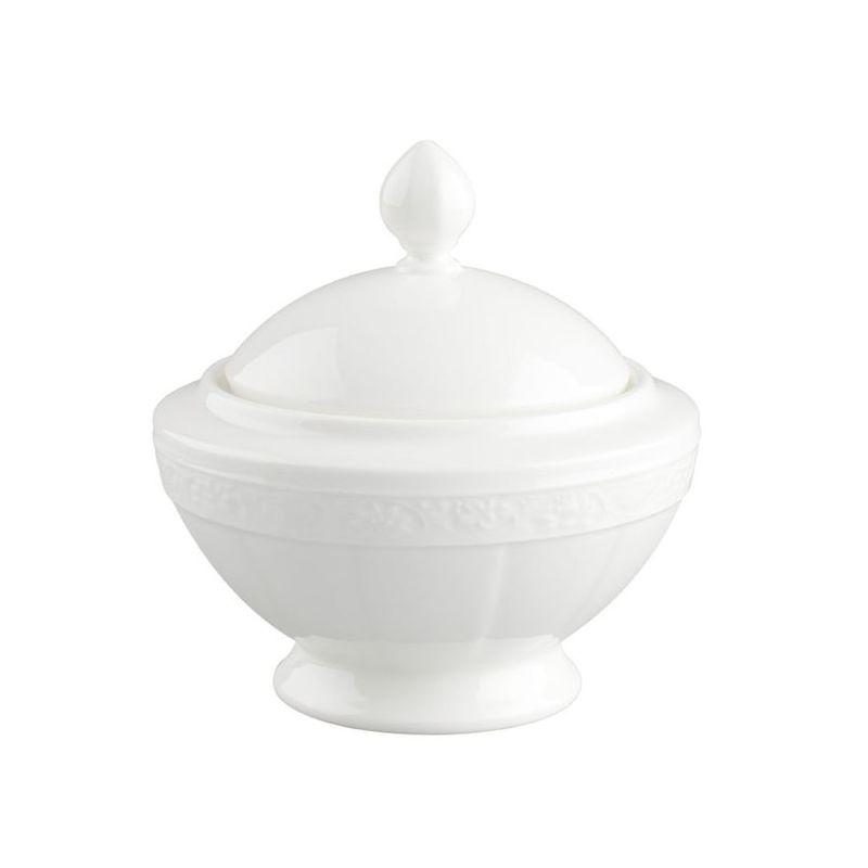 Villeroy & Boch - White Pearl - cukiernica - pojemność: 0,35 l