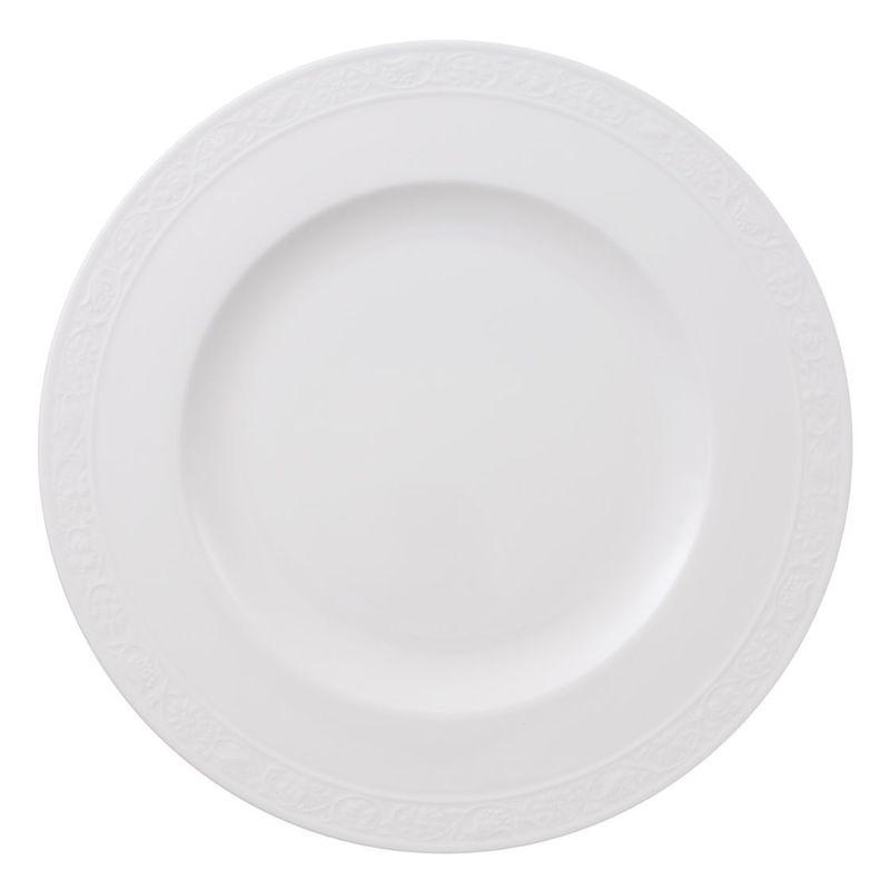 Villeroy & Boch - White Pearl - talerz płaski - średnica: 27 cm