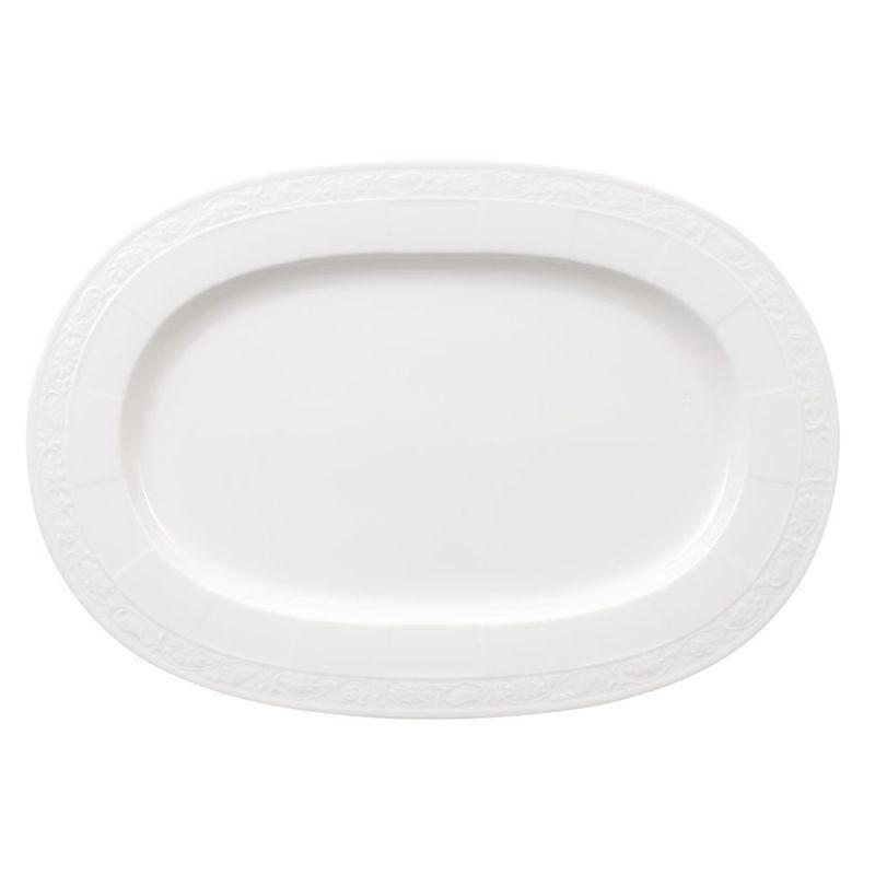 Villeroy & Boch - White Pearl - półmisek owalny - długość: 41 cm