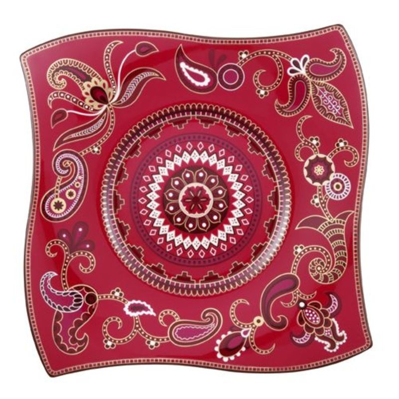 Villeroy & Boch - Samarah Purpur - talerz bufetowy - wymiary: 35 x 35 cm