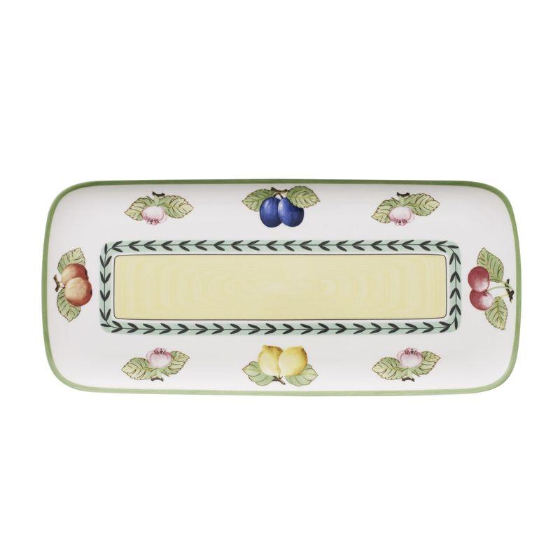 Villeroy & Boch - French Garden Charm & Breakfast - talerz na ciasta lub przystawki - wymiary: 35 x 16 cm