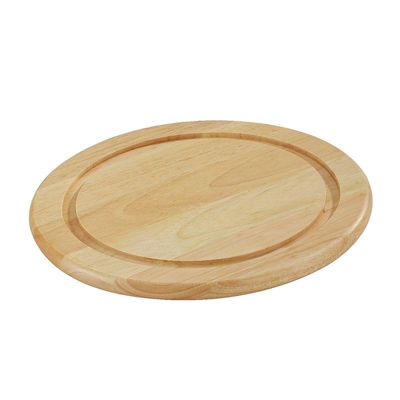 Zassenhaus - Kauczukowiec - deska do serwowania mięs - średnica: 25 cm