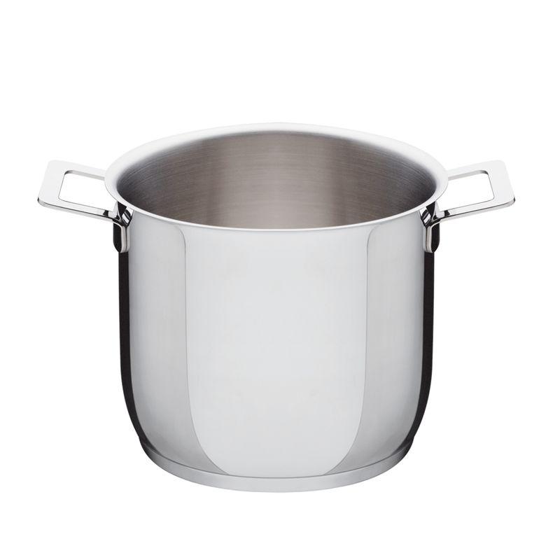 A di Alessi - Pots&Pans - wysoki garnek - średnica: 20 cm; pojemność: 5,0 l