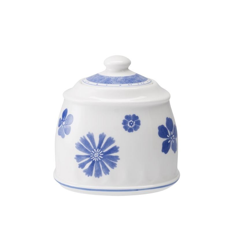 Villeroy & Boch - Farmhouse Touch Blueflowers - cukiernica lub pojemnik na  dżem