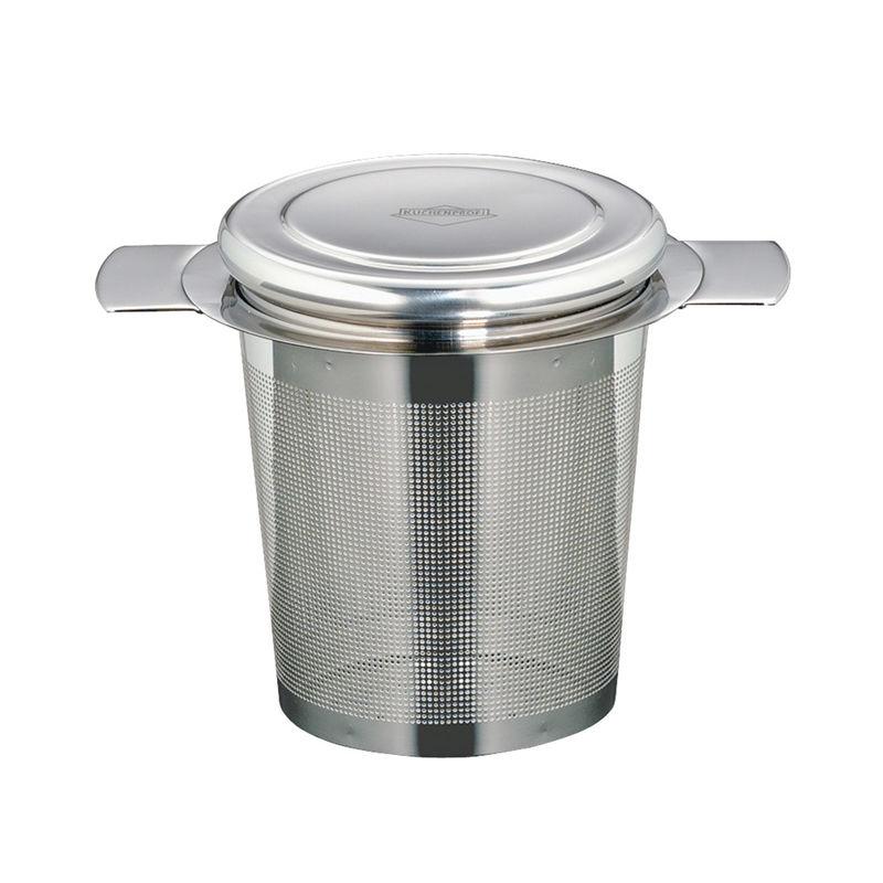 Küchenprofi - zaparzacz stalowy z przykrywką - średnica: 6 cm