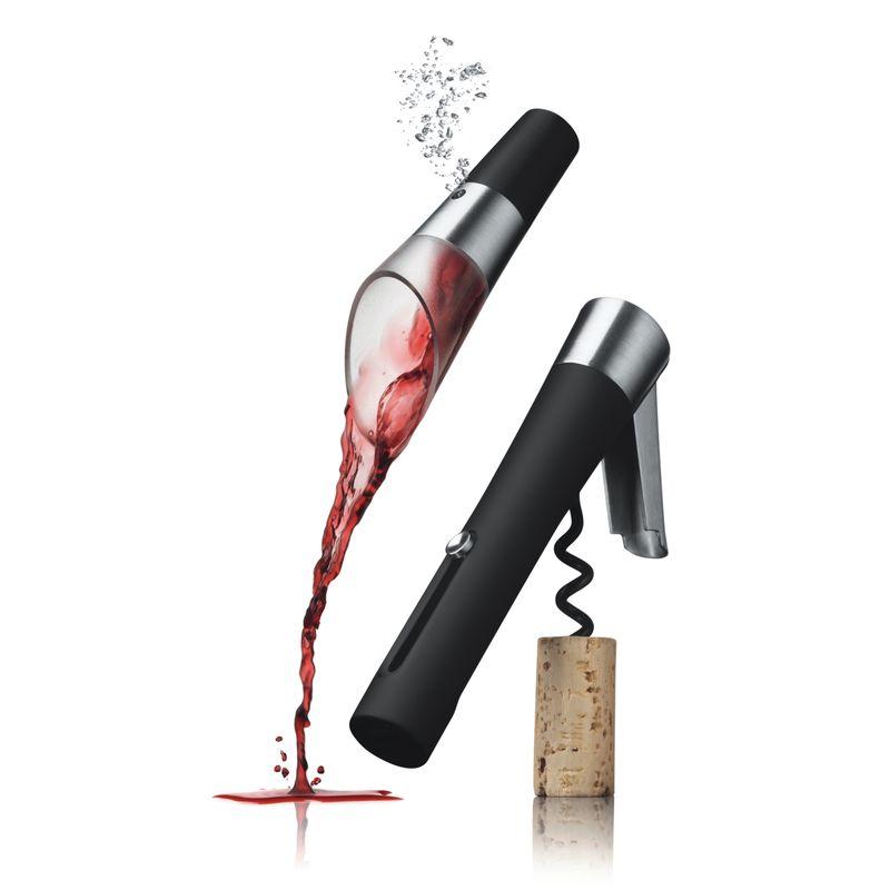 Menu - Vignon - korkociąg i nalewak do wina