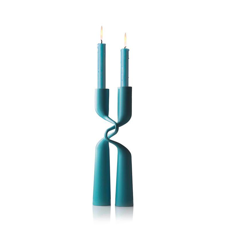 Menu - Double - podwójny świecznik - wysokość: 32 cm