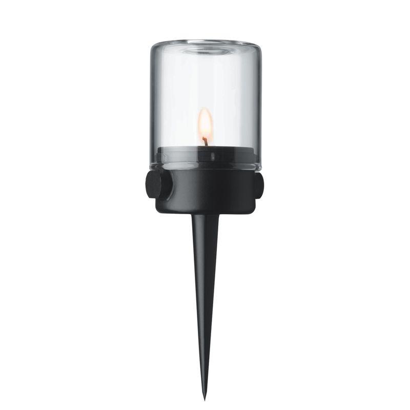 Menu - Pipe - lampion na tealight - wysokość: 15 cm