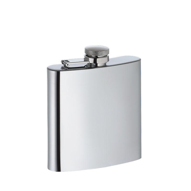 Cilio - stalowa piersiówka - pojemność: 0,175 l