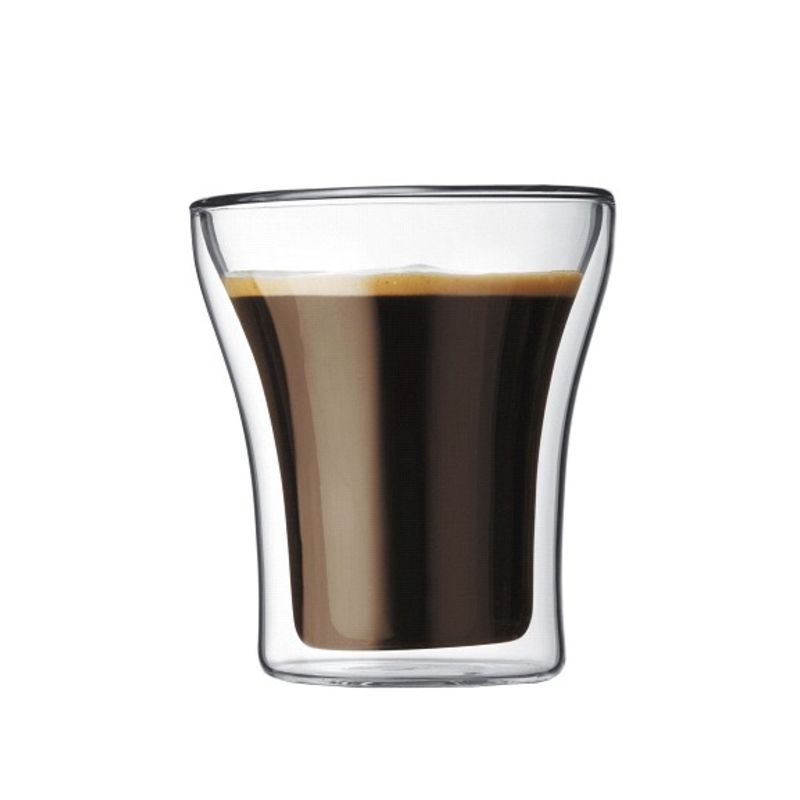 Bodum - Assam - 2 szklanki o podwójnych ściankach - pojemność: 0,22 l