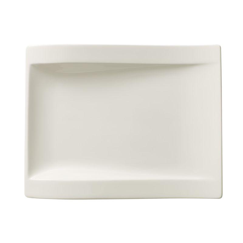 Villeroy & Boch - New Wave - prostokątny talerz sałatkowy - wymiary: 26 x 20 cm