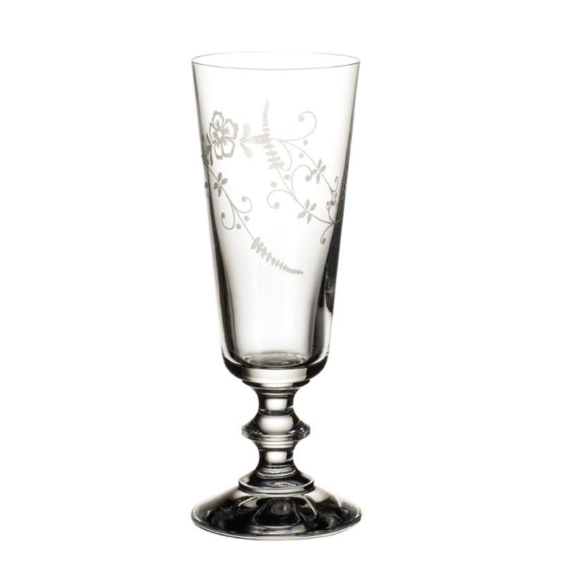 Villeroy & Boch - Old Luxembourg - 4 kieliszki do szampana - wysokość: 17,4 cm