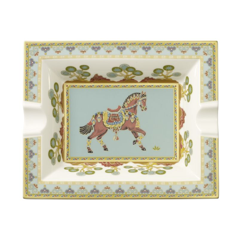 Villeroy & Boch - Samarkand Aquamarin - popielniczka - wymiary: 17 x 21 cm