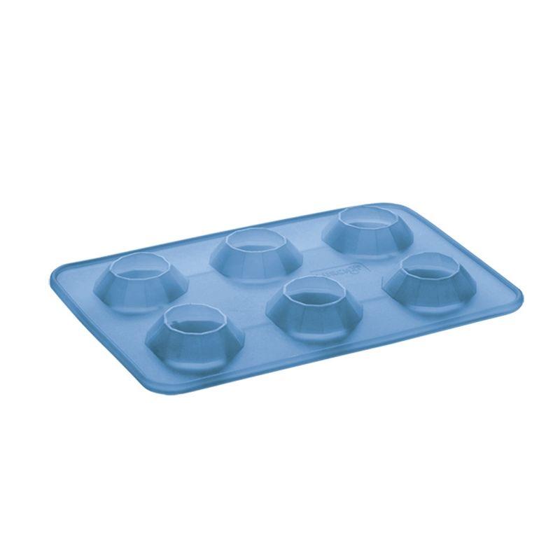 Lurch - silikonowa foremka na lód - diamenty - wymiary: 13 x 18,5 cm