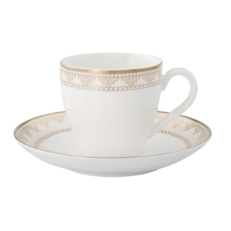 Villeroy & Boch - Samarkand - filiżanka do espresso ze spodkiem - pojemność: 0,1 l