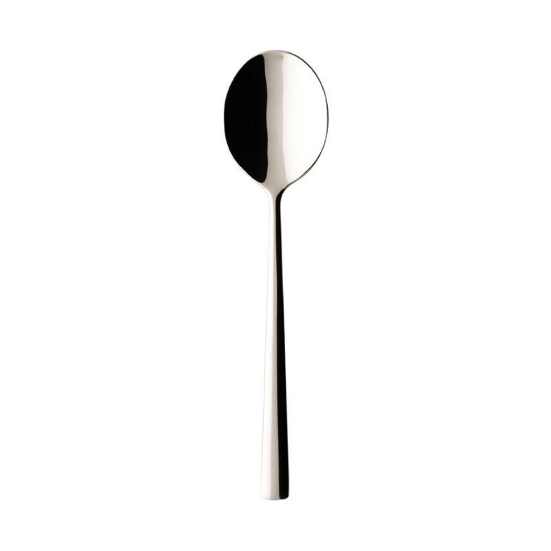 Villeroy & Boch - Piemont - łyżka do zup i kremów - długość: 18,1 cm