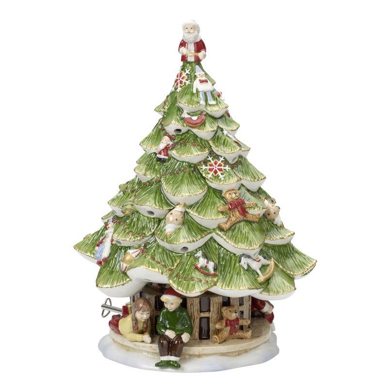 Villeroy & Boch - Christmas Toys Memory - choinka-lampion z pozytywką - wysokość: 30 cm