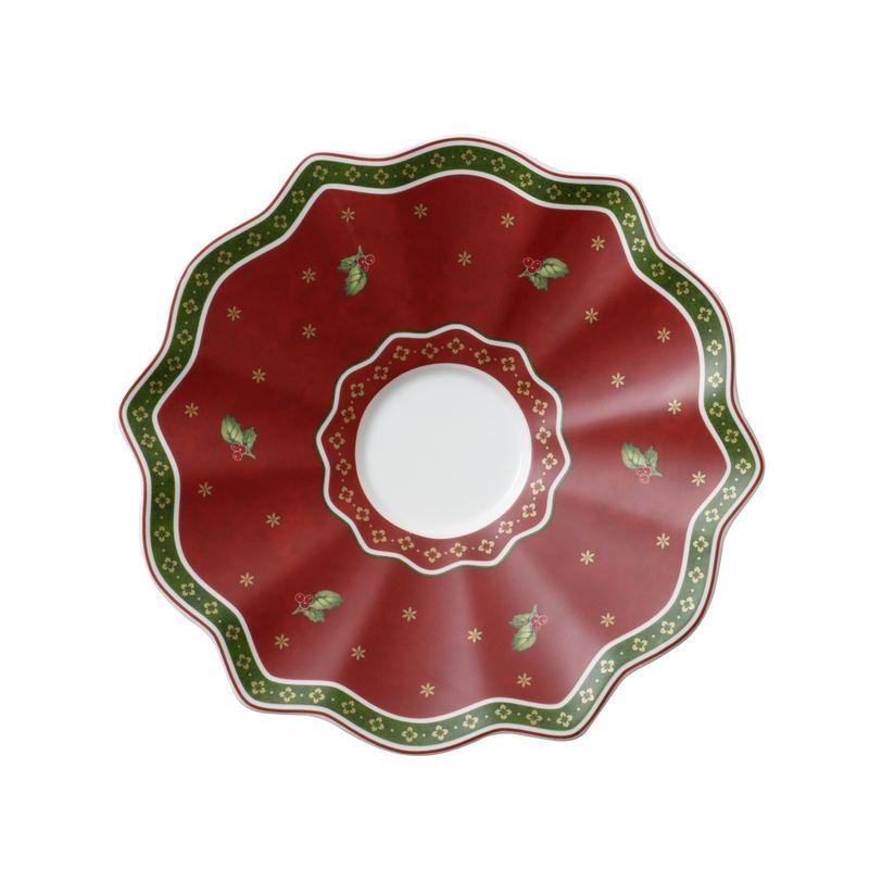 Villeroy & Boch - Toy's Delight - spodek do filiżanki do kawy z mlekiem - średnica: 19 cm
