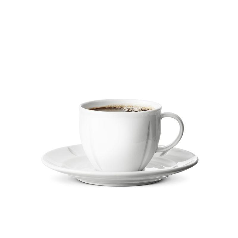 Rosendahl - Grand Cru Soft - filiżanka do kawy ze spodkiem - pojemność: 0,28 l