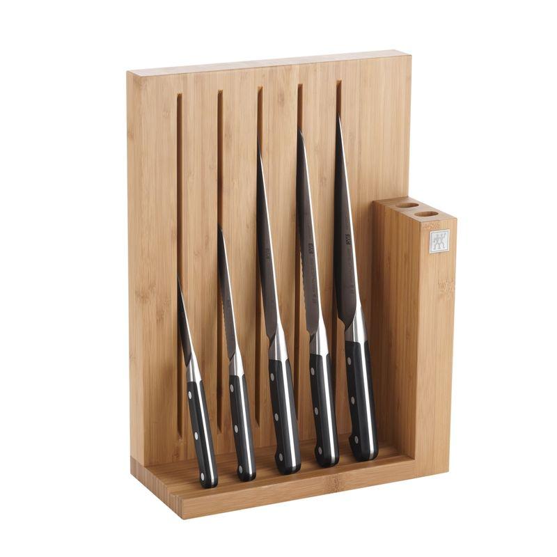 Zwilling - ZWILLING Pro - zestaw noży w bloku magnetycznym - 5 noży