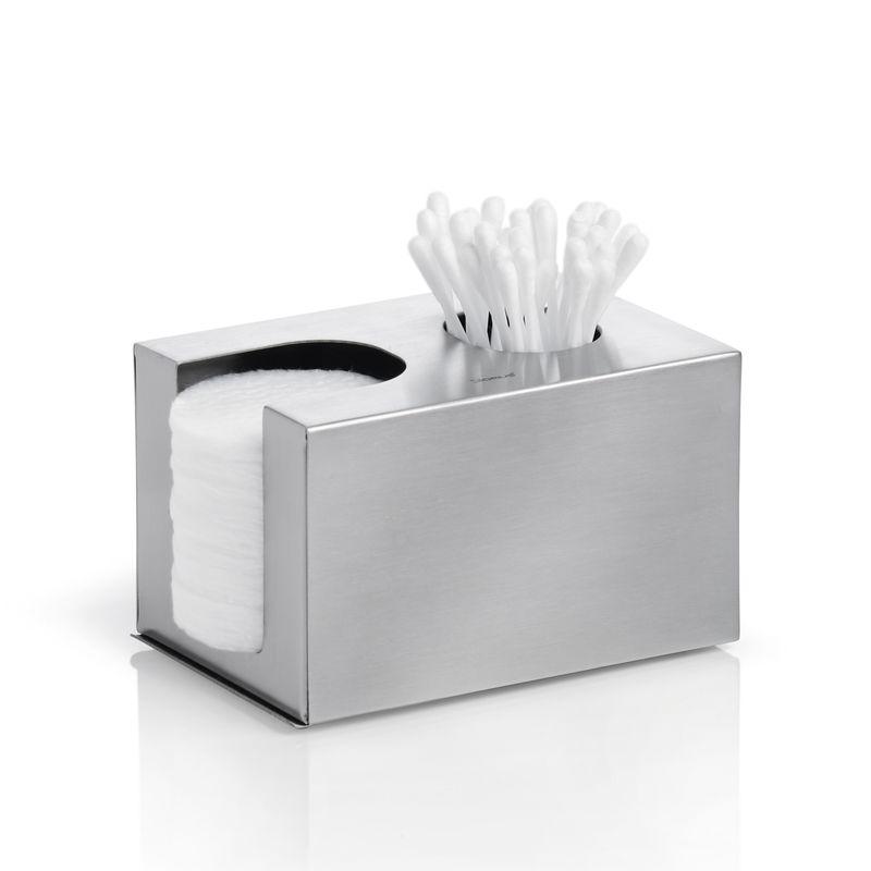 Blomus - Nexio - pojemnik na płatki i patyczki kosmetyczne - wymiary: 12 x 8 x 7,5 cm