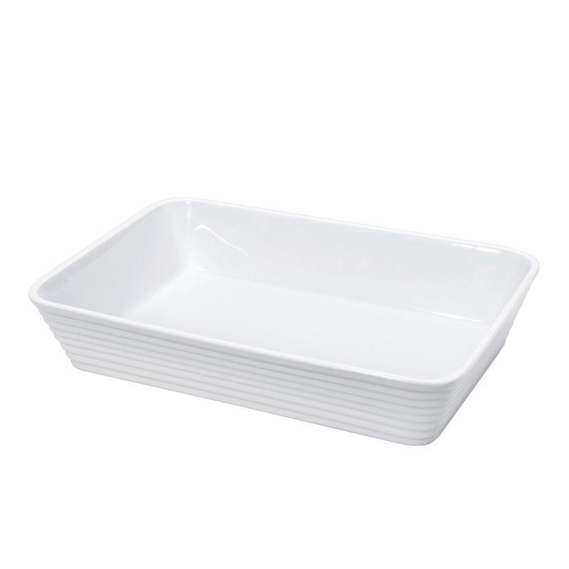 Küchenprofi - Burgund - porcelanowe naczynie żaroodporne - wymiary: 20 x 12 x 6 cm