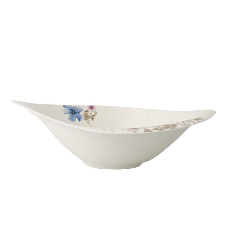 Villeroy & Boch - Mariefleur Gris Serve & Salad - miska sałatkowa - wymiary: 36 x 24 cm