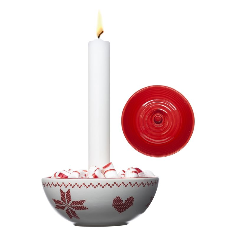 Sagaform - Christmas - świecznik - średnica: 12 cm