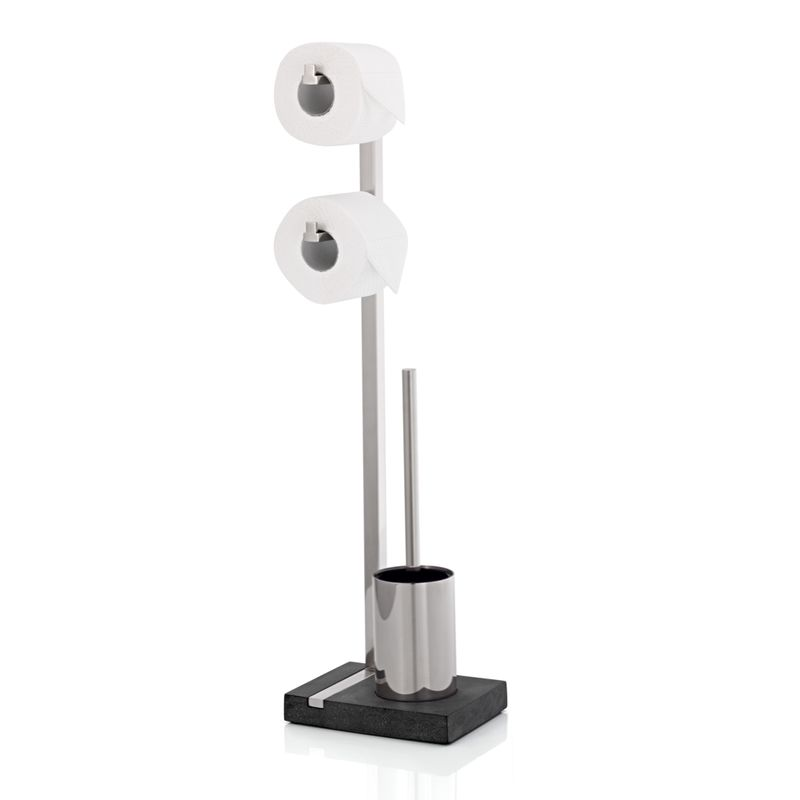 Blomus - Menoto - stojak na papier toaletowy i szczotkę - wysokość: 72,5 cm