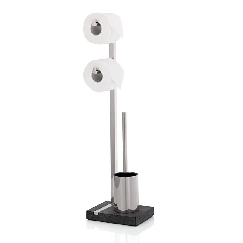 blomus menoto stojak na papier toaletowy i szczotk. Black Bedroom Furniture Sets. Home Design Ideas
