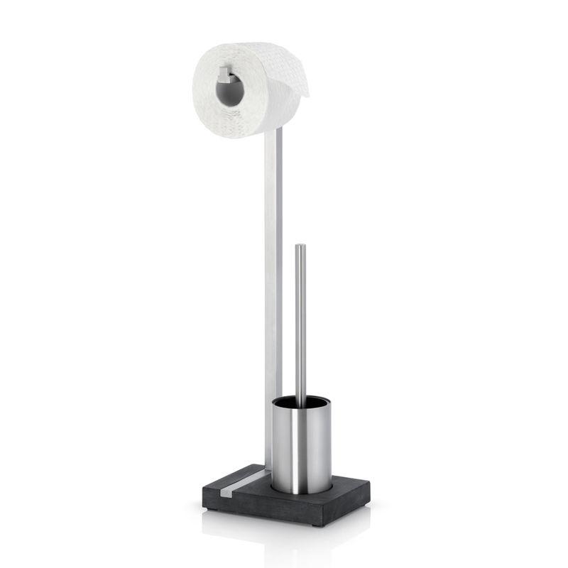 Blomus - Menoto - stojak na papier toaletowy i szczotkę - wysokość: 64,5 cm