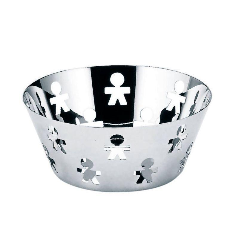 A di Alessi - Girotondo - okrągły koszyk - średnica: 20,5 cm