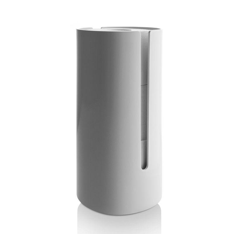 Alessi - Birillo - pojemnik na papier toaletowy - wymiary: 15 x 15 x 31 cm