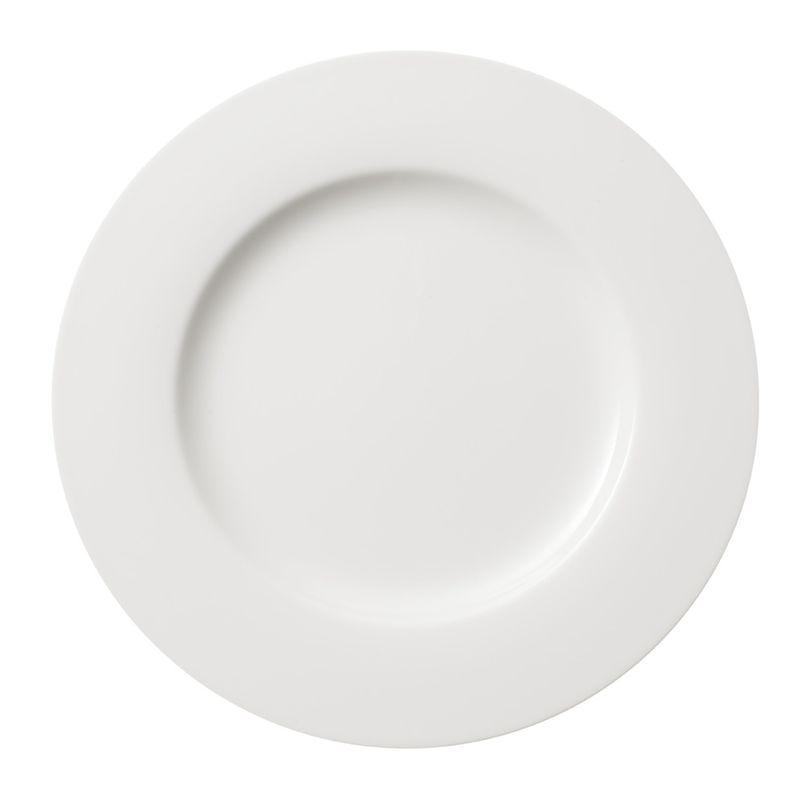 Villeroy & Boch - Twist White - talerz płaski - średnica: 27 cm