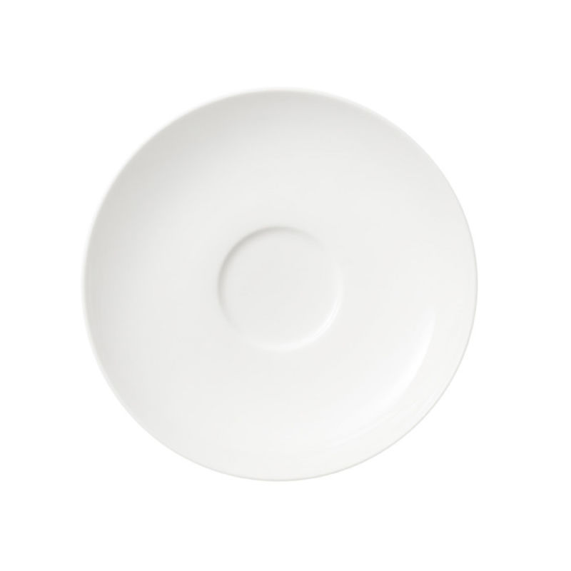 Villeroy & Boch - Twist White - spodek do filiżanki do kawy lub herbaty - średnica: 14 cm