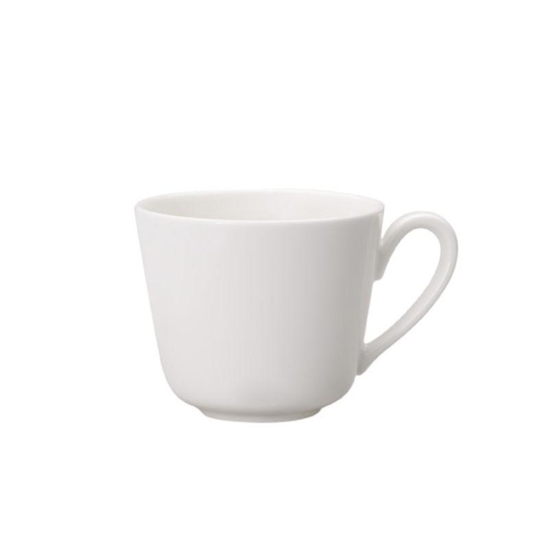 Villeroy & Boch - Twist White - filiżanka do espresso - pojemność: 0,1 l