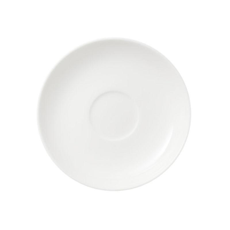 Villeroy & Boch - Twist White - spodek do filiżanki do espresso - średnica: 12 cm