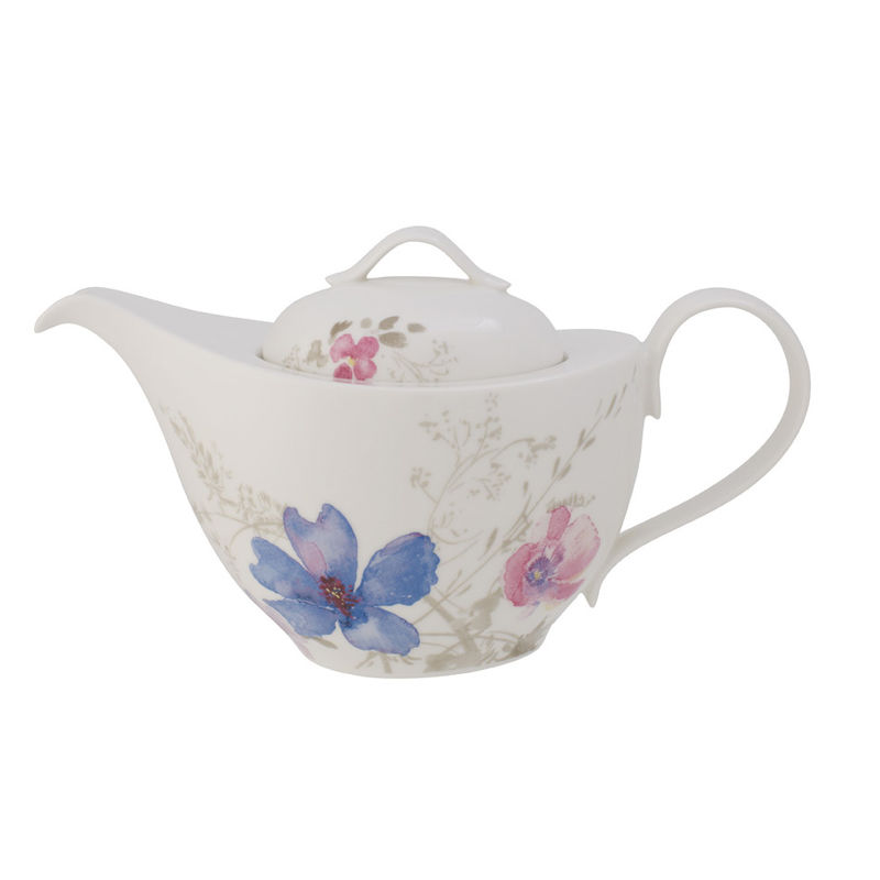 Villeroy & Boch - Mariefleur Gris Basic - dzbanek do herbaty - pojemność: 1,0 l