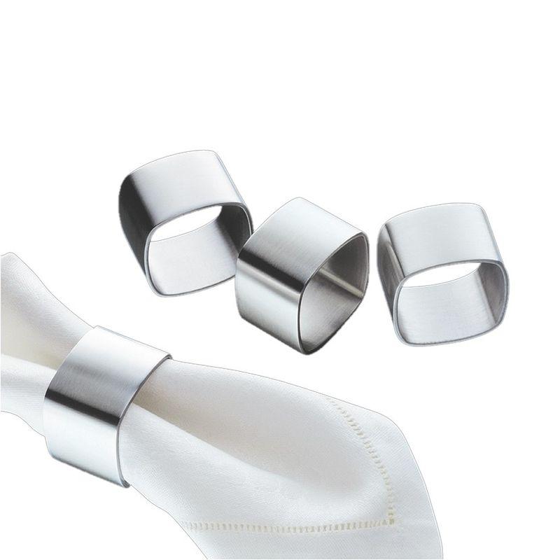 Cilio - 4 obrączki do serwetek - wymiary: 4,5 x 4,5 cm