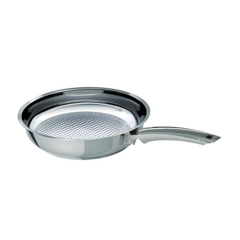 Fissler - Crispy Steelux Premium - patelnia grillowa - średnica: 24 cm
